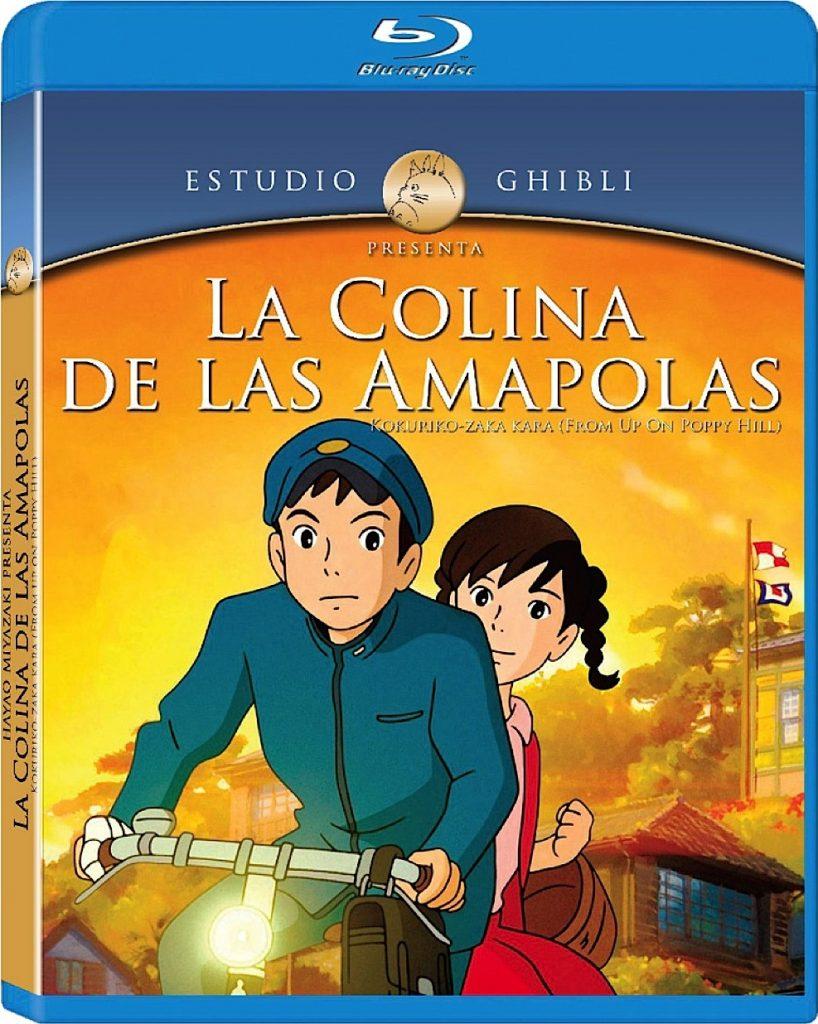 Portada de La colina de las amapolas en blu-ray en español .
