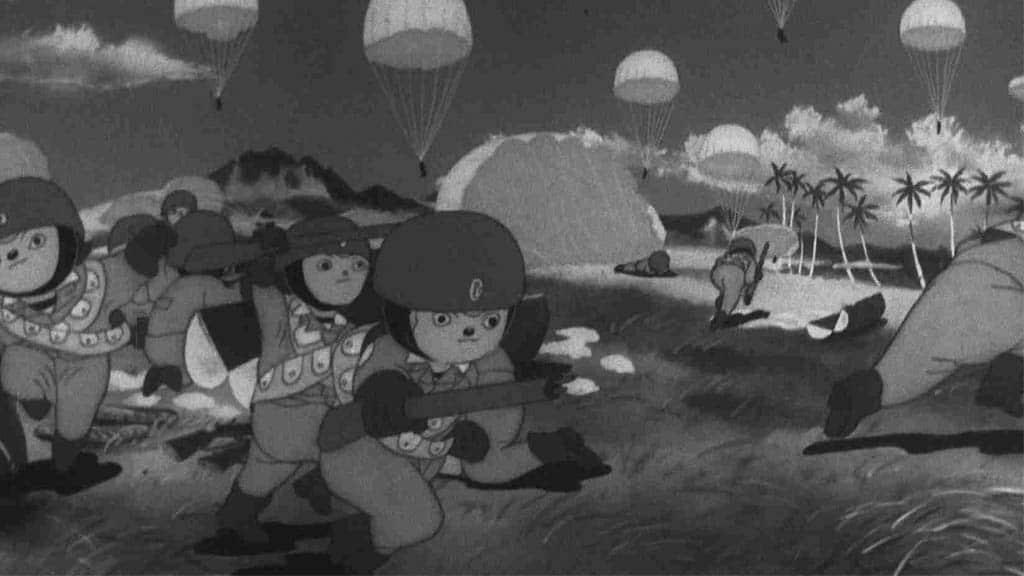 Historia del anime (III). La Segunda Guerra Mundial