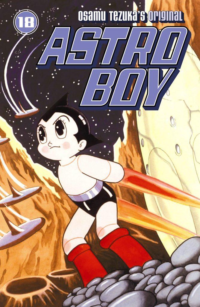 Astroboy, manga y anime de Osamu Tezuka, extrabajador de Toei Animation.