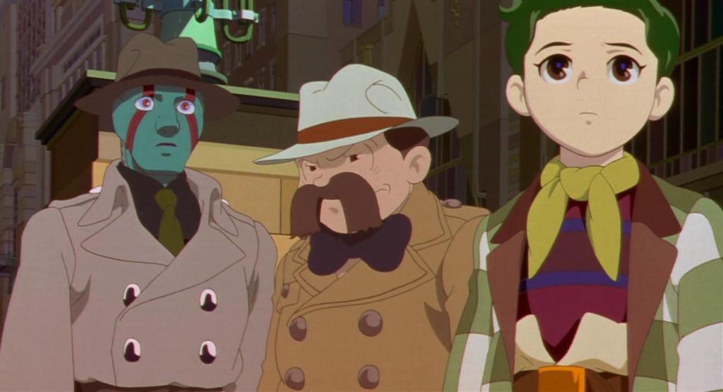 Los detectives en Metrópois, de Rintaro.