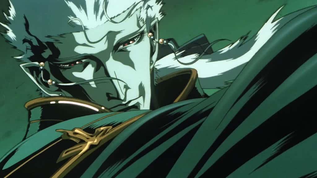 Vampire hunter D: Bloodlust. Romanticismo puro